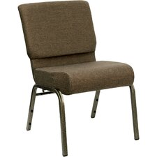 <strong>Flash Furniture</strong> Hercules Series 21'' Extra Wide Stacking Church Chair with 4'' Thick Seat