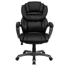 <strong>Flash Furniture</strong> High-Back Leather Layered Upholstered Executive Chair