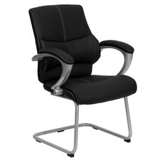 Executive Guest Side Chair with Stitching