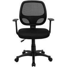 <strong>Flash Furniture</strong> Mid-Back Mesh Computer Office Chair