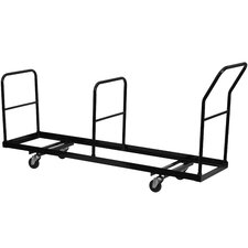 Steel Vertical Storage Folding Chair Dolly