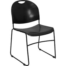 <strong>Flash Furniture</strong> Hercules Series High Density / High Stacking Ultra Compact Stack Chair