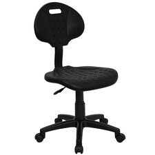 <strong>Flash Furniture</strong> Mid-Back Tuff Butt Soft Polypropylene Utility Task Chair