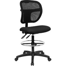<strong>Flash Furniture</strong> Mid-Back Mesh Task Chair with Curved Back