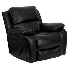 <strong>Flash Furniture</strong> Leather Chaise Recliner