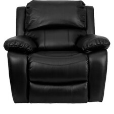 Personalize Rocker Leather Recliner