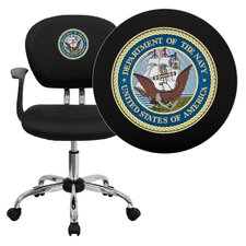 <strong>Flash Furniture</strong> NCAA Mid-Back Task Chair with Arms
