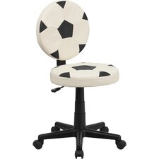 Soccer Mid Back Kid's Desk Chair