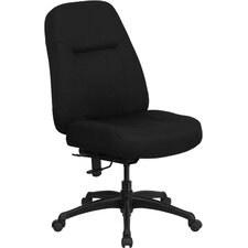 <strong>Flash Furniture</strong> Hercules Series High-Back Big and Tall Fabric Office Chair with Extra Wide Seat