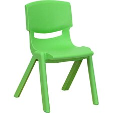 "<strong>Flash Furniture</strong> 10.5"" Plastic Stackable Classroom Chair"