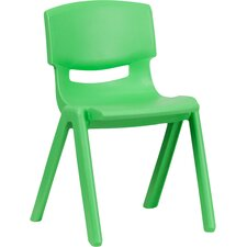 "13.25"" Plastic Classroom Stackable School Chair"