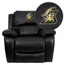 NCAA Leather Sports Recliner