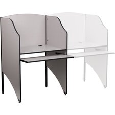 <strong>Flash Furniture</strong> Starter Study Carrel Desk