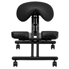 <strong>Flash Furniture</strong> Ergonomic Kneeling Chair with Saddle Seat