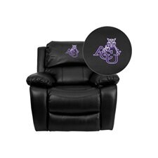 <strong>Flash Furniture</strong> NCAA Leather Sports Recliner