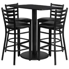 <strong>Flash Furniture</strong> 5 Piece Dining Set
