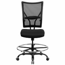 Hercules Series Mesh Drafting Stool