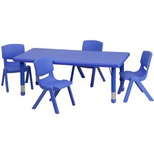 <strong>Flash Furniture</strong> Rectangular Activity Table