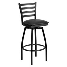 Hercules Series Back Swivel Bar Stool