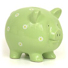 Daisy Large Piggy Bank