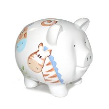 <strong>Child to Cherish</strong> Jungle Jack Large Piggy Bank