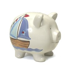 Nautical Large Piggy Bank