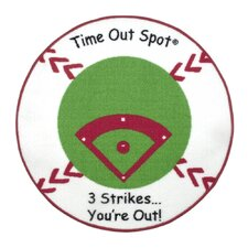Time Out Spot Baseball Kids Rug