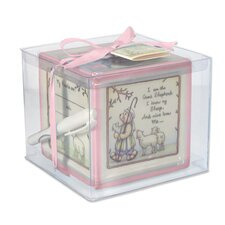 """Christening Block"" Keepsake Bank"