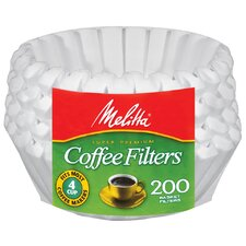 4 - 6 Cup Paper Basket Coffee Filters (Pack of 200)