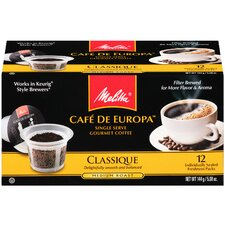 Classique Supreme Hard Pod Coffee (Pack of 12)