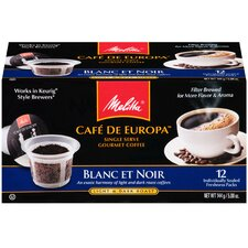 Blanc Et Noir Hard Pod Coffee (Pack of 12)