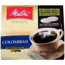 Colombian Soft Pod Coffee (Pack of 16)