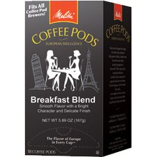 Breakfast Blend One Coffee Pods, 18 Pods/Box