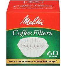 <strong>Melitta</strong> Single Serve Coffee Filters for JavaJig 60 Count