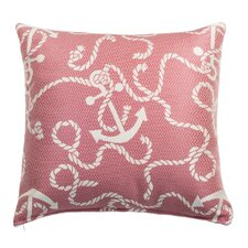 Anchors Aweigh Indoor and Outdoor Square Pillow