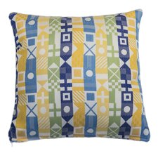 Signal Nautical Outdoor and Indoor Square Pillow