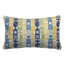 Signal Nautical Indoor and Outdoor Lumbar Pillow