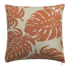 Bay Palm Outdoor and Indoor Square Pillow