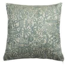 Tide Pool Isle Water Outdoor and Indoor Square Pillow