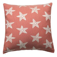 Starfish Outdoor and Indoor Square Pillow
