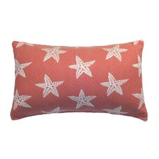 Starfish Indoor and Outdoor Lumbar Pillow