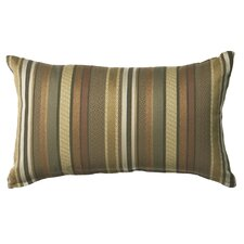 Outdoor/Indoor Vibrant Lucky Star Russet Pillow