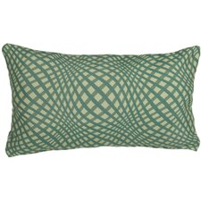 Indoor Gingham Lumbar Pillow