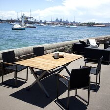 <strong>Harbour Outdoor</strong> Coast Teak 5 Piece Dining Set