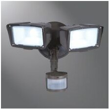 Twin Head LED Motion Wall Fixture