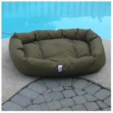 Outdoor Foam Donut Dog Bed