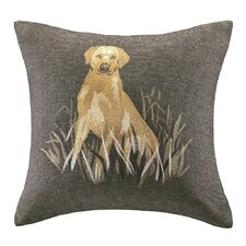 Oak Harbor Square Pillow with Embroidery