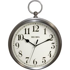"Big Ben 15.5"" Pocket Watch Wall Clock"