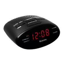 Radio Digital Tuning Clock