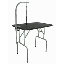 Pet Grooming Table with Folding Legs